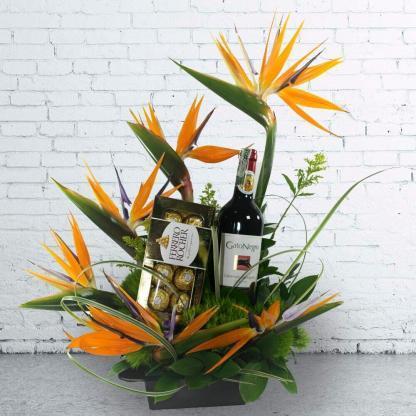 Arreglo floral Lucrecia