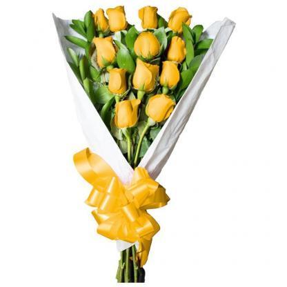 Floristeria Bogota ► Docena Rosas Amarillas