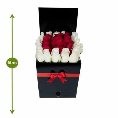 Caja De Rosas Luxury