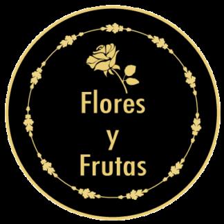 Ramos de flores y frutas