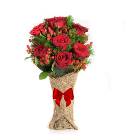 Floristeria Bogota ► 7 Rosas Rojas D Amor